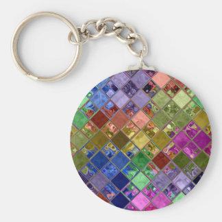 Sparkle Tiles Mosaic Art Key Chain