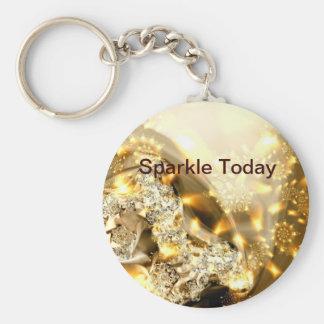 Sparkle Today KEYCHAIN fractal art