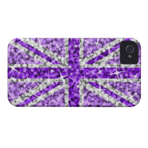 'Sparkle' UK Purple BlackBerry Bold barely there Blackberry Bold Covers