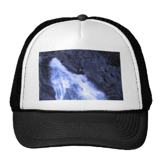 Sparkle white jet flow water from Holy River Ganga Trucker Hat