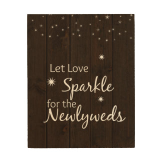 sparkler rustic sign