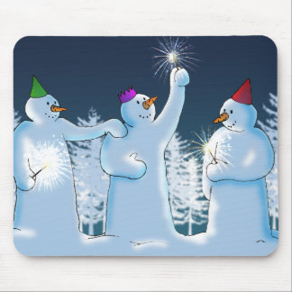 Sparklers Mouse Pad