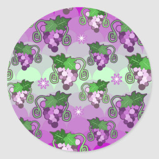 Sparkles and Grabes Scalloped Pattern Sticker