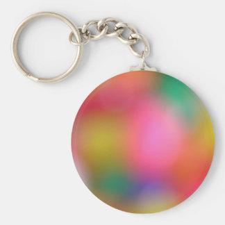 Sparkles Basic Round Button Key Ring