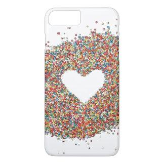 Sparkles Heart design phone cover