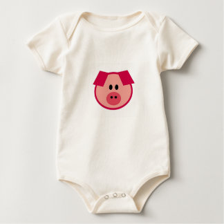 Sparkles the Pig Baby Bodysuit