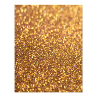 Sparkley Glitter Golden 21.5 Cm X 28 Cm Flyer