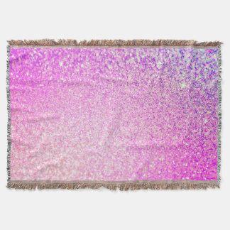 Sparkley Style Glitter Throw Blanket