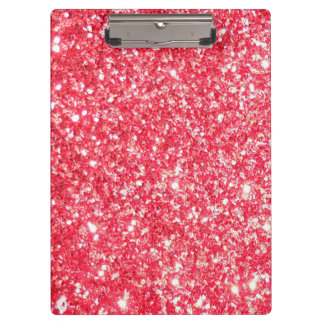 Sparkley Style Trendy Chic Clipboard