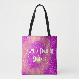 Sparkling Bags Leave a Trail of Sparkle Glittery