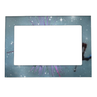 Sparkling Bee with Stars Magnetic Picture Frame