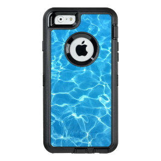Sparkling Blue Swimming Pool Water OtterBox Defender iPhone Case
