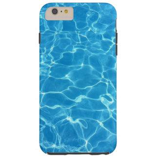 Sparkling Blue Swimming Pool Water Tough iPhone 6 Plus Case