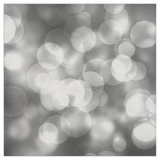Sparkling Bokeh Silver ID133 Fabric