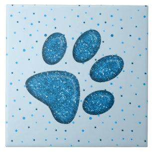 Image result for sparkling blue paw print