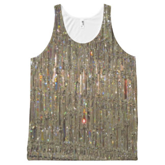 Sparkling Chandelier All-Over Print Singlet