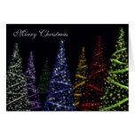Sparkling Christmas Trees