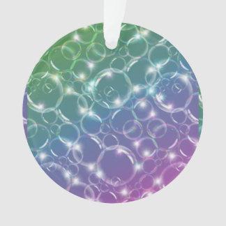 Sparkling Clear Translucent Bubbles Colorful