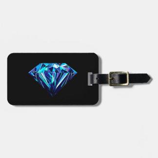 Sparkling diamond bag tag