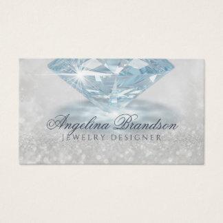 Sparkling Diamond Jeweller Jewellery Designer Card