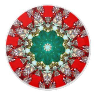 Sparkling Gems Fractal Ceramic Knob