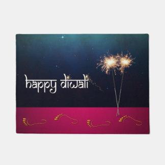 Sparkling Happy Diwali - Doormat