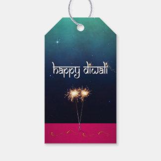 Sparkling Happy Diwali - Gift Tag