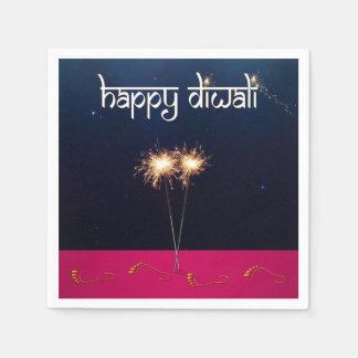 Sparkling Happy Diwali - Paper Napkin