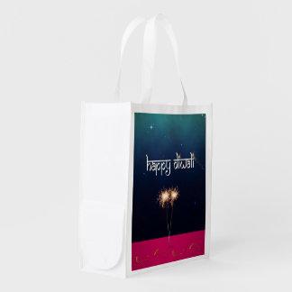 Sparkling Happy Diwali - Reusable Bag