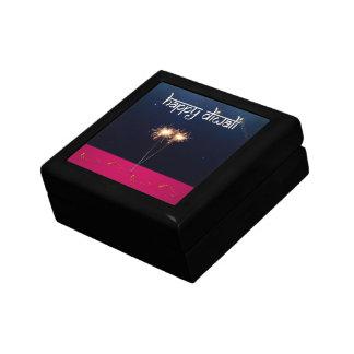 Sparkling Happy Diwali - Tile Gift Box
