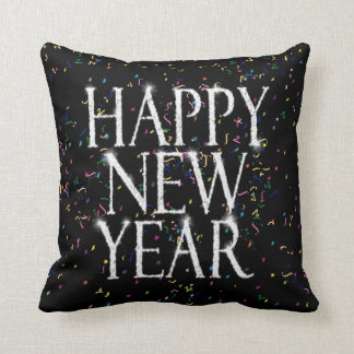 Sparkling Happy New Year Cushion