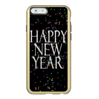 Sparkling Happy New Year Incipio Feather® Shine iPhone 6 Case