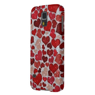 Sparkling Hearts, Cases For Galaxy S5