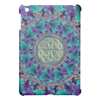 Sparkling Jewelled Celtic Fractal iPad Mini Covers