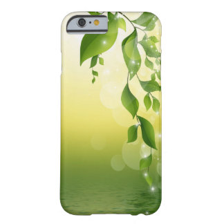 Sparkling Leaves Barely There iPhone 6 Case