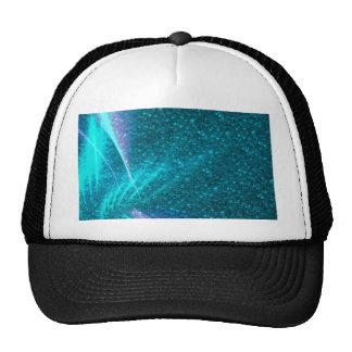Sparkling Lights,aqua Mesh Hat