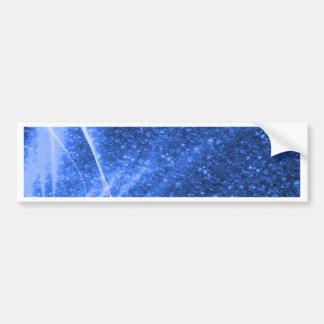 sparkling lights blue bumper sticker