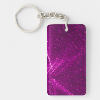 sparkling lights pink acrylic key chains