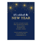 Sparkling Night New Year's Eve Party Invitation