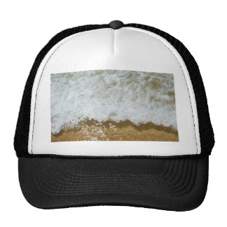 Sparkling ocean scene background cap