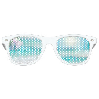 SPARKLING OCEAN WATERS RETRO SUNGLASSES