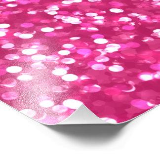 Sparkling Pink Glitter Photo Print
