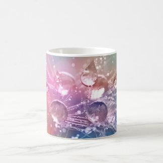 Sparkling Rainbow Water Drops Coffee Mug