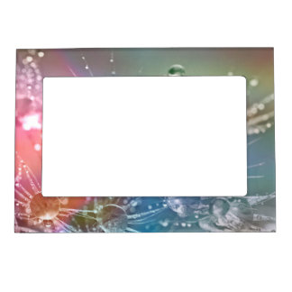 Sparkling Rainbow Water Drops Magnetic Frame