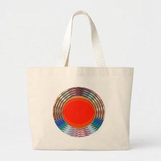 Sparkling RED Deco Emblem: GIFTS emit ENERGY Canvas Bag