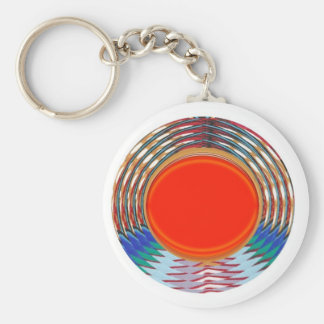 Sparkling RED Deco Emblem: GIFTS emit ENERGY Key Chain