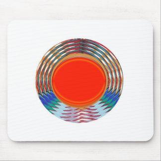 Sparkling RED Deco Emblem: GIFTS emit ENERGY Mousepad