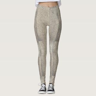 Sparkling Silver Leggings