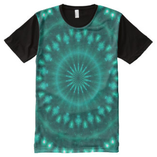 Sparkling soul music (emerald-spring-pine) All-Over print T-Shirt
