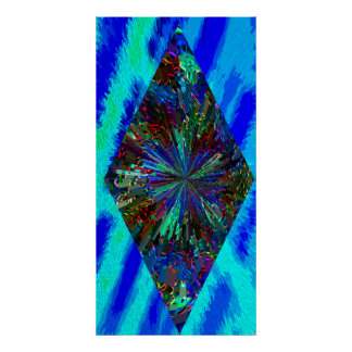 Sparkling  Star Vertical Poster